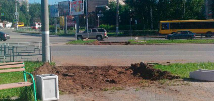 На перекрестке улиц Молодежная и Ленина в Ижевске появится регулируемый пешеходный переход