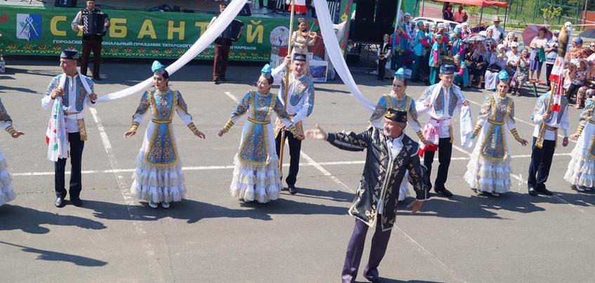 Городской праздник «Сабантуй» прошел на спорткомплексе «Чекерил» в Ижевске