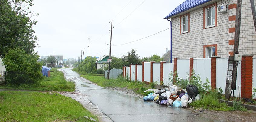 Чтобы разобраться со стихийными свалками в Ленинском районе Ижевска, выносить мусор будут сразу при оплате