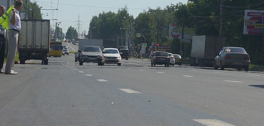 В 2018 году в Ижевске и пригороде планируют отремонтировать 59 участков дорог