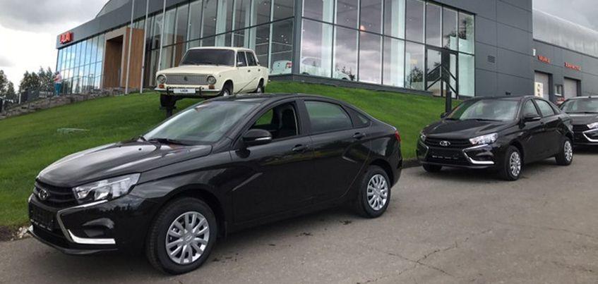 Правительство Удмуртии закупило 20 новых Lada Vesta