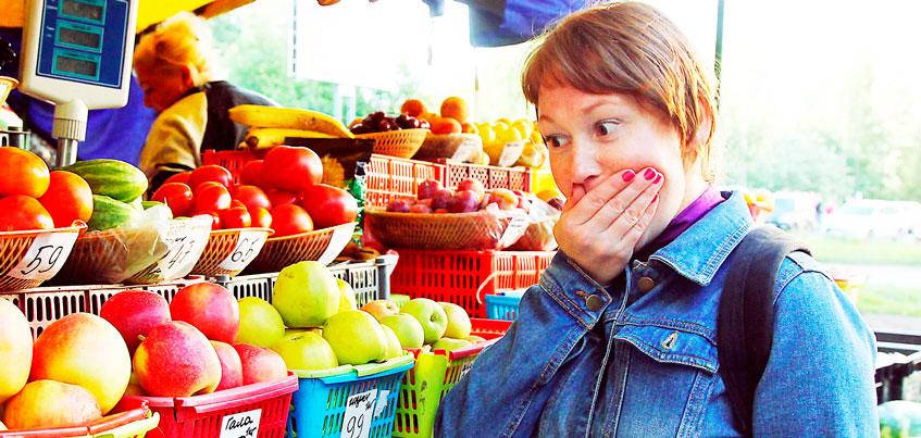Яблоки – 140, помидоры – 110: во что обходится ижевчанам холодное лето