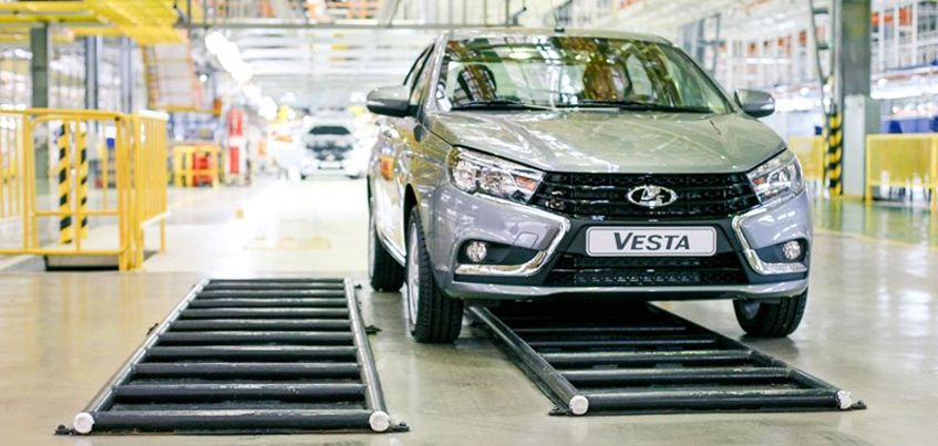 Ижевская Lada Vesta попала в топ-100 самых популярных моделей в Европе