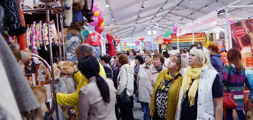 Впервые в Ижевске открылась «Всероссийская ярмарка в Устиновском районе»