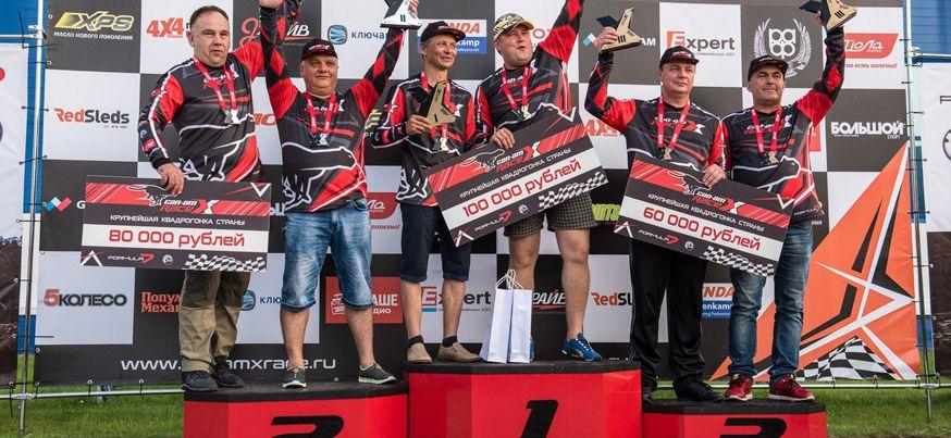 Экипаж из Удмуртии занял первое место на втором этапе крупнейшей квадрогонки Can-Am X Race