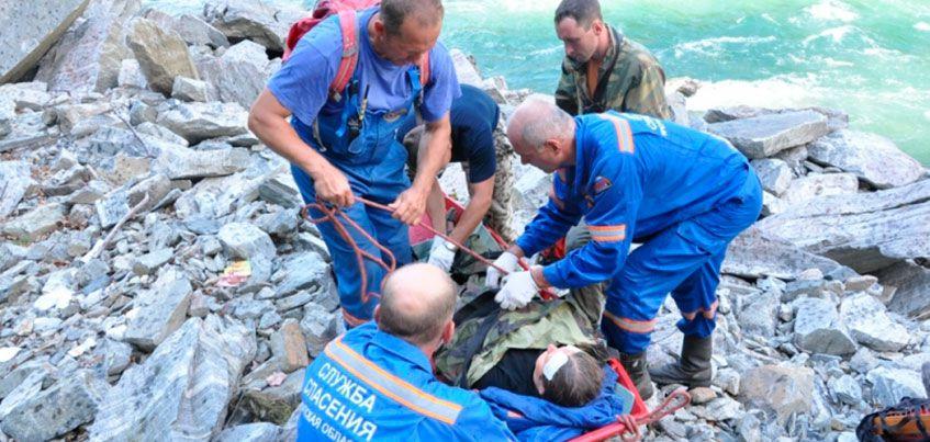 Ижевчанка, которая 4 дня ждала помощи, упав с обрыва в Восточном Саяне, планирует вернуться в горы на следующий год