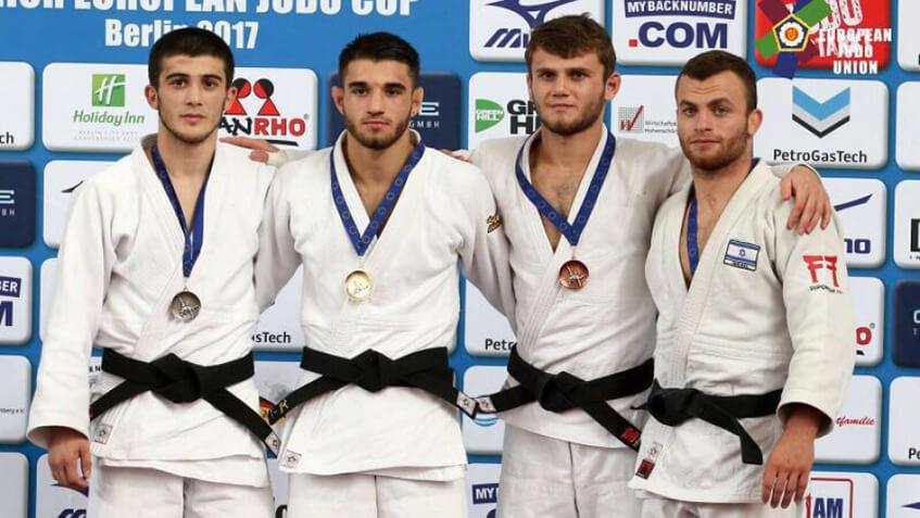 Спортсмен из Удмуртии стал призером Кубка Европы по дзюдо