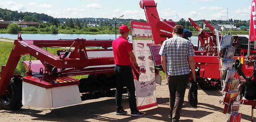 Ростсельмаш презентовал оптимальные агротехнические решения для фермеров Удмуртии