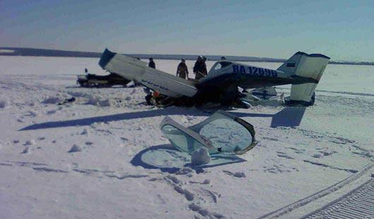 Причина падения самолета под Ижевском: пилот не смог выровнять машину после резкого снижения