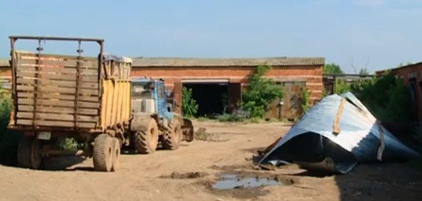 В Удмуртии сильный ветер чуть не убил водителя грузовика