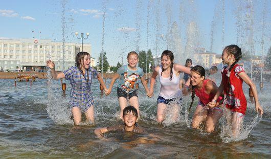 Жаркие и дождливые выходные ожидаются в Ижевске