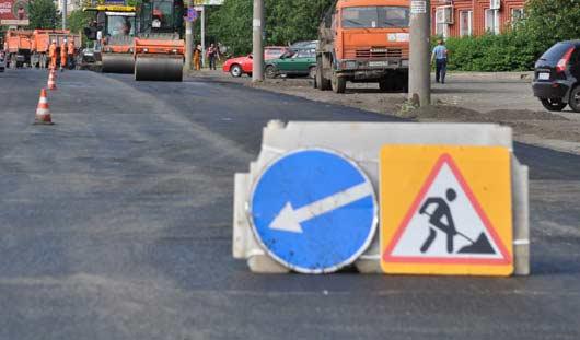 В Ижевске осталось отремонтировать пять участков дорог