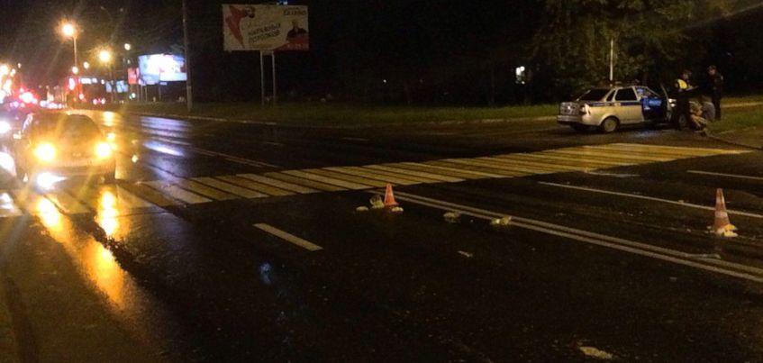 В Ижевске на улице 10 лет Октября на пешеходном переходе сбили 40-летнюю женщину
