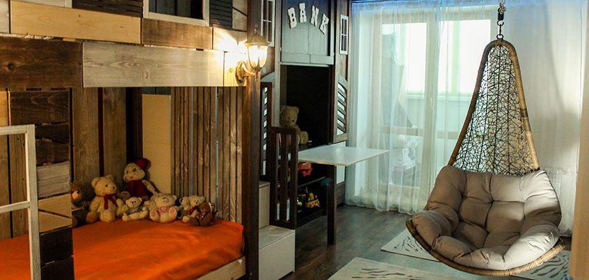 Квартира недели: Бунгало в ванной и ковбойское ранчо в детской