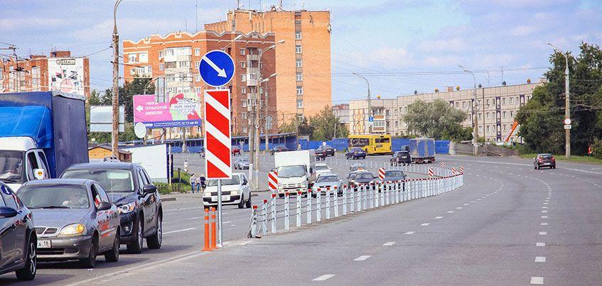 В Ижевске могут продлить тросовые ограждения с улицы Удмуртской до поворота на Хохряки