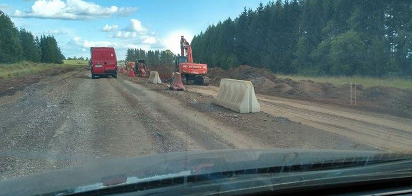Выходные впереди: рассказываем, где идет ремонт дорог и образуются пробки