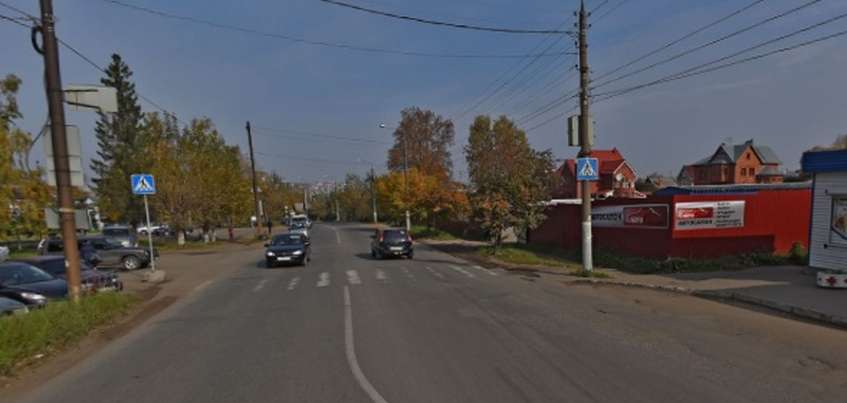 Два нерегулируемых пешеходных перехода ликвидируют в Ленинском районе Ижевска