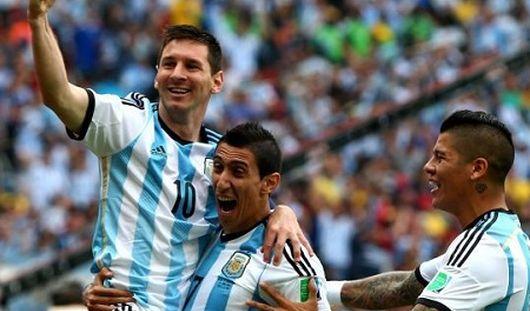 Аргентина прошла в полуфинал ЧМ-2014