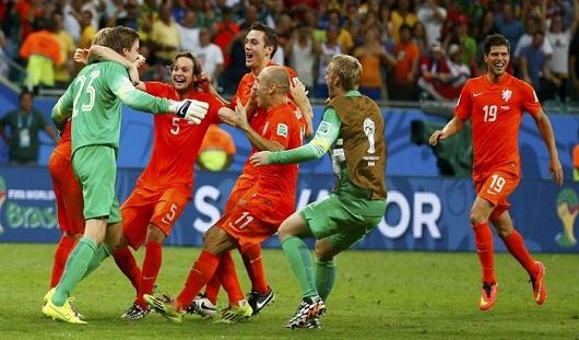 Сборная Нидерландов вышла в полуфинал чемпионата мира