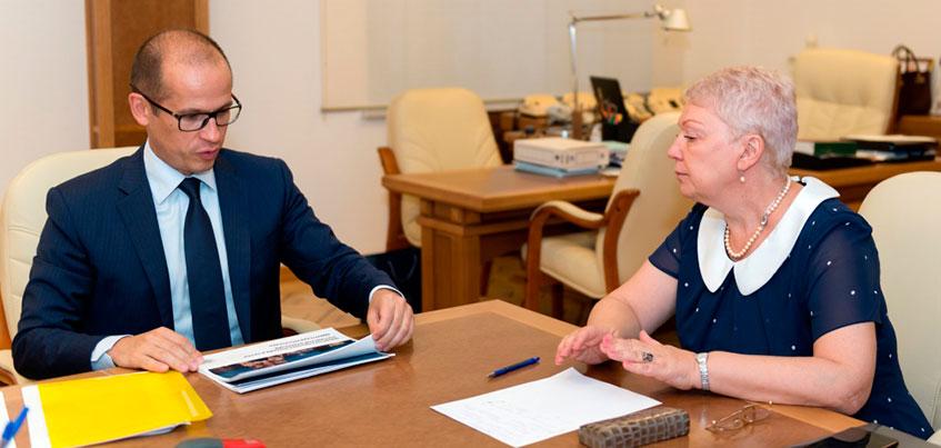 Врио Главы Удмуртии встретился с министром образования РФ