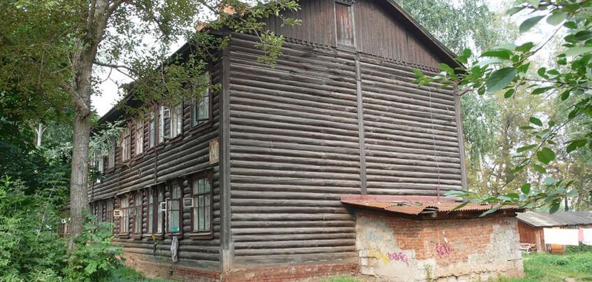 В районе «Соцгород» в Ижевске снесут барак в аварийном состоянии