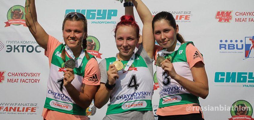 Уроженка Удмуртии Валерия Васнецова выиграла три медали на Чемпионате мира в Чайковском