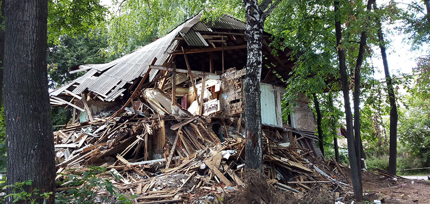 Что появится на месте снесенных домов «еврейского квартала» в Ижевске?