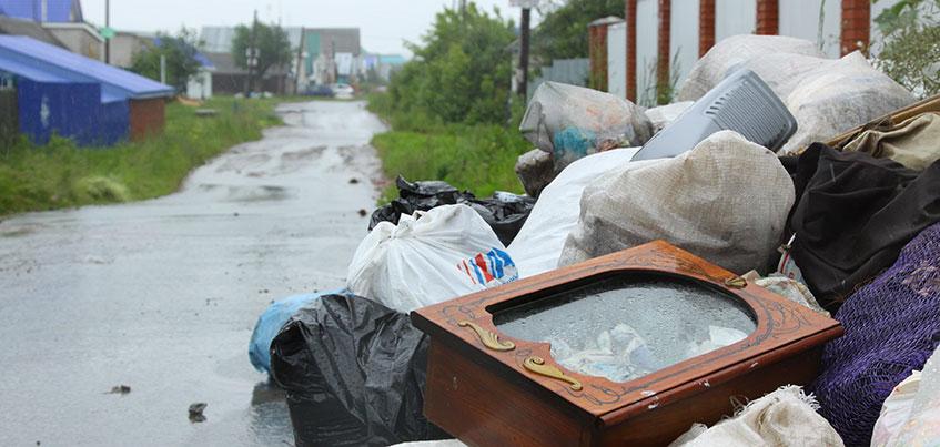 Свалки в частном секторе Ижевска: какие меры примут власти для наведения чистоты и порядка?