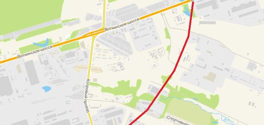 В Ижевске улицу Автозаводскую продлят до Воткинского шоссе