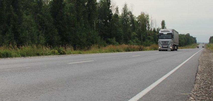 Дорожники закончили укладывать асфальт на западном обходе Ижевска