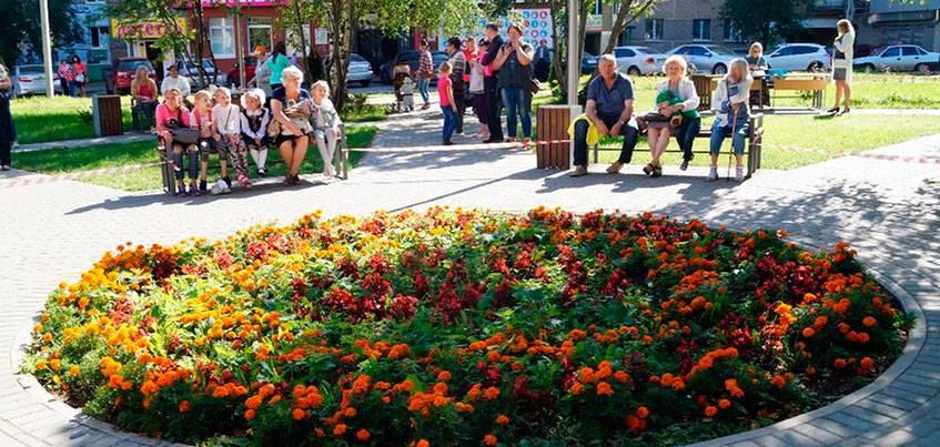 В Ижевске на улице Татьяны Барамзиной открылся новый сквер
