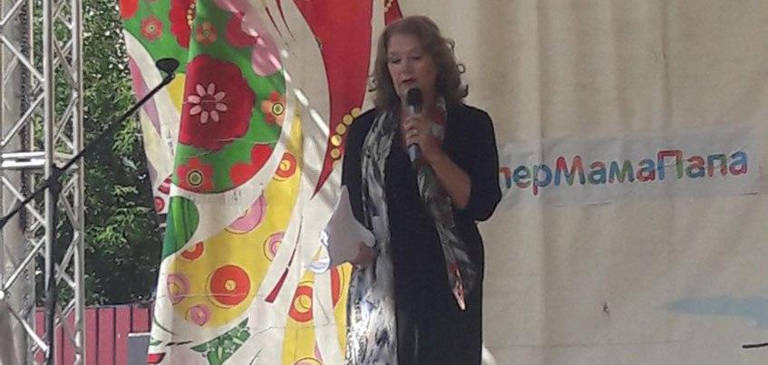 Ирина Алферова побывала в Ижевске 2 сентября