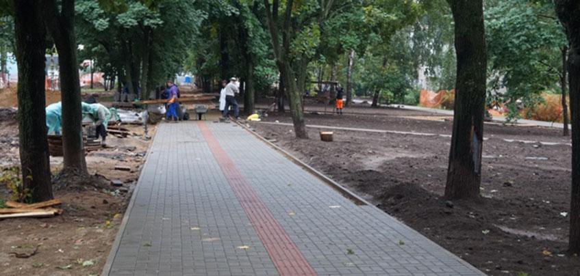 Реконструкцию Бульвара Гоголя в Ижевске планируют закончить 30 сентября