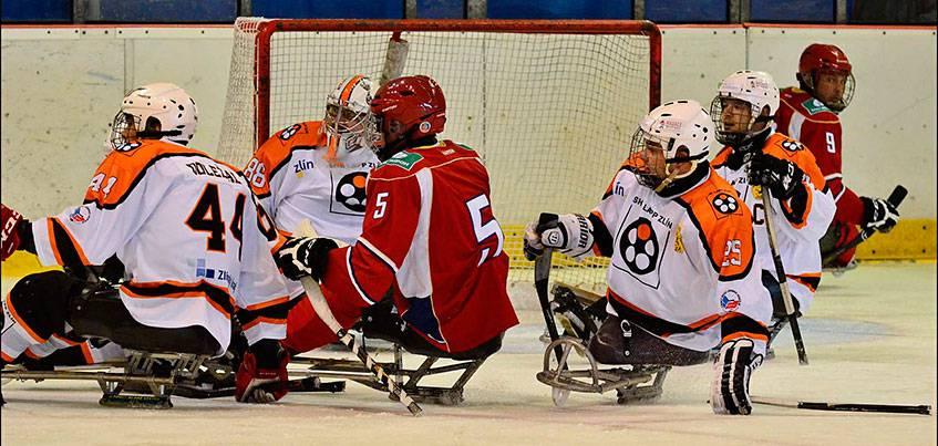 Следж-хоккеисты из Удмуртии стали победителями международного турнира LAPP CUP ZLÍN-2017