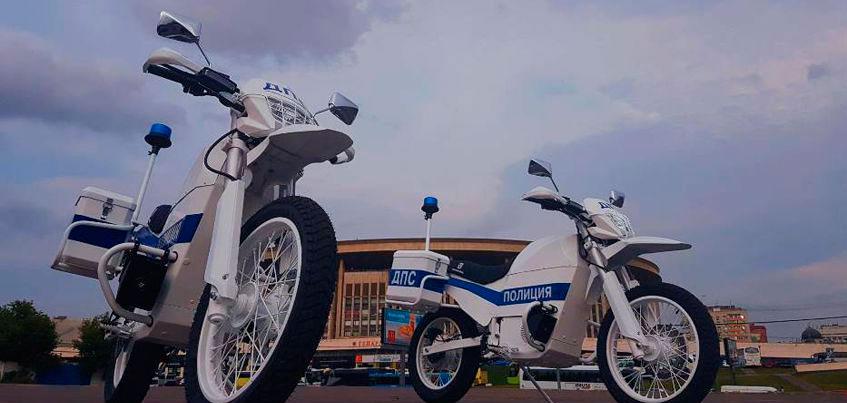 Москва закупит порядка 50 электромотоциклов Концерна «Калашников» из Ижевска