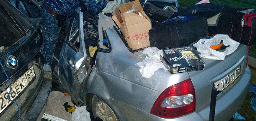 4 человека погибли при столкновении «Лада Приора» и BMW на объездной в Удмуртии