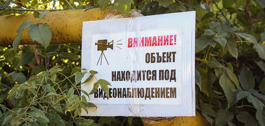 Камера у свалки на перекрестке Московская-Степная в Ижевске помогла поймать 10 нарушителей