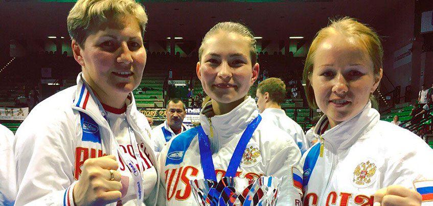 Каратисты Удмуртии завоевали три медали на Чемпионате Мира