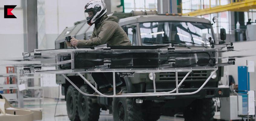 Видео: Концерн «Калашников» разработал «летающий автомобиль»