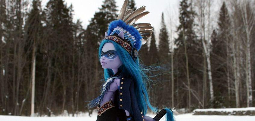 Хендмейд недели: ижевчанка переделывает кукол «Монстр хай» и продает их по всему миру