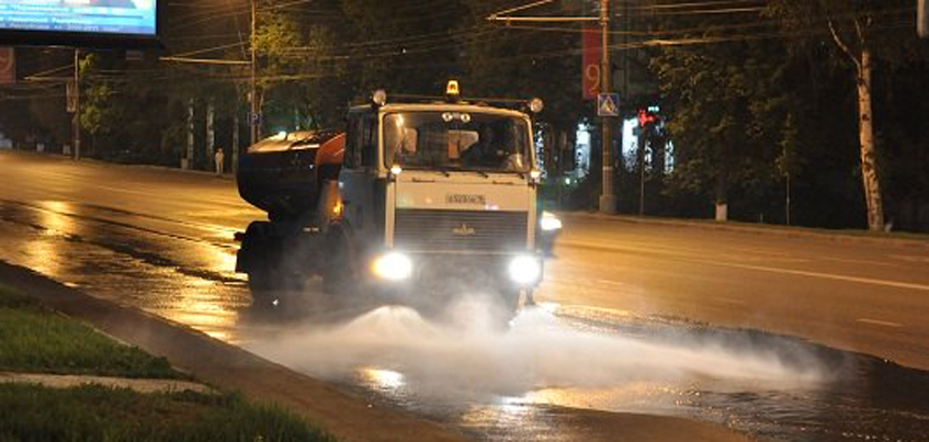 На уборку улиц Ижевска в 2018 году дополнительно выделят 30 млн рублей