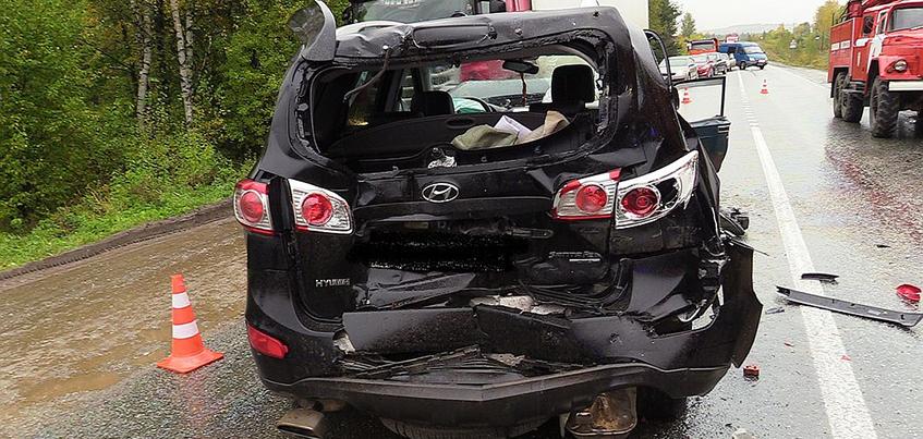 В ДТП в Удмуртии пострадали 3 взрослых и 5-летний ребенок