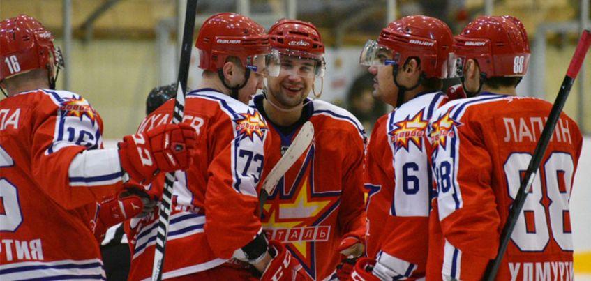 Хоккеисты «Ижстали» обыграли «Горняк» со счетом 4:0