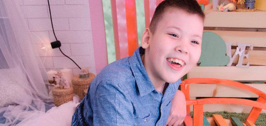 Нужна помощь: 12-летнему Данилу Гаязову с поражением ЦНС нужна специальная коляска