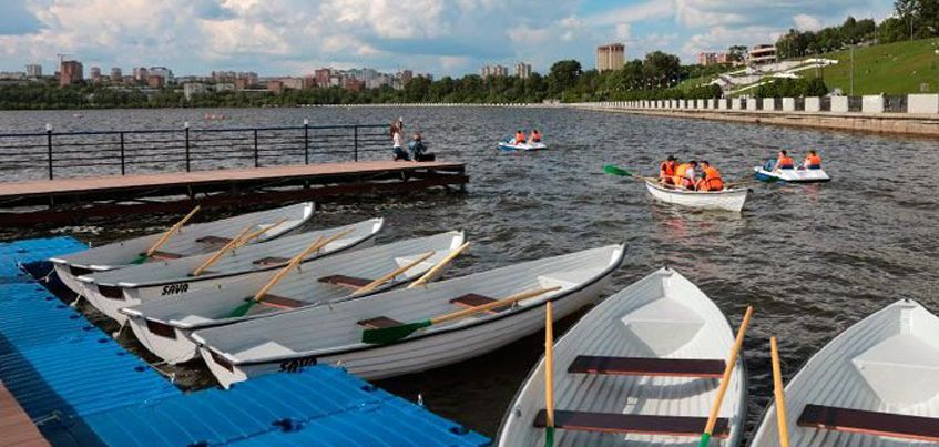 В Ижевске закрылась на зиму лодочная станция