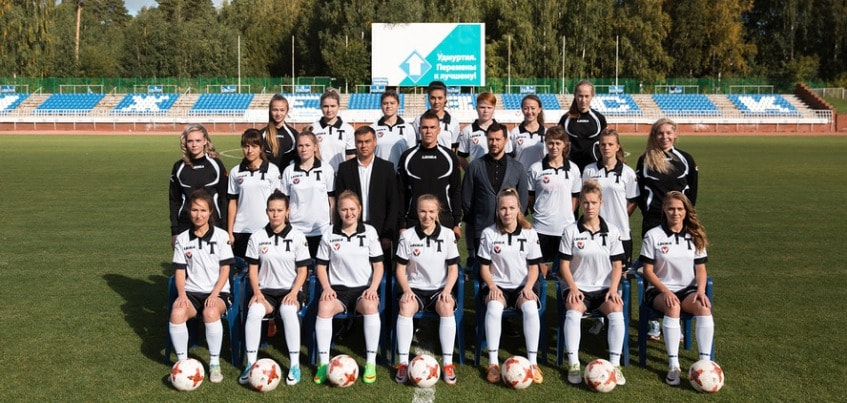 Сколько стоит женский футбольный клуб в Ижевске