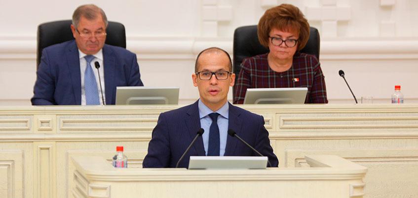 Первая пресс-конференция Александра Бречалова в качестве Главы Удмуртии
