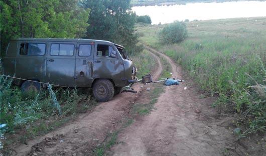 В Удмуртии в аварии погиб рыбак