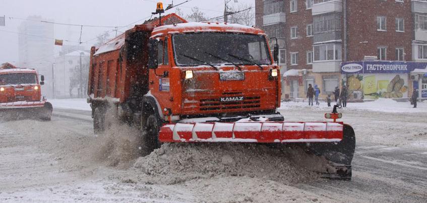Из бюджета Удмуртии выделили 50 млн рублей на очистку улиц от снега