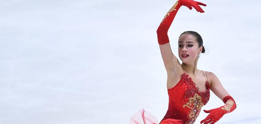 Ижевская фигуристка Алина Загитова заняла третье место на турнире Japan Open